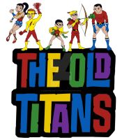 Old Titans - 1960s by joshthecartoonguy
