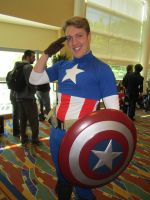 Fanime'12: Captain America by theEmperorofShadows