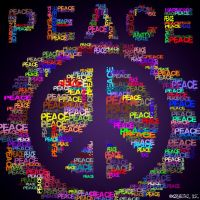 Peace Typography by freestyle-1love