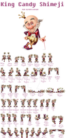 King candy Shimeji(comeplete with prize) by Rubeccaknight