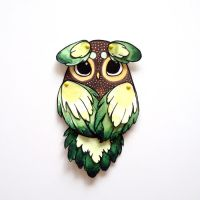 Owl Paperdoll 02 by Myrntai