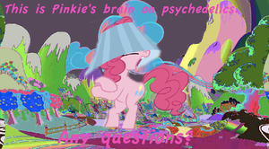 Pinkie's Brain by WarriorSparrow