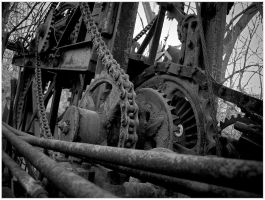 Old Machinery by Valentine-Photo