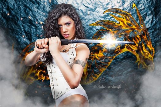 Fighter Girl by Duviant