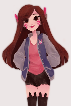 casual dva by snownymphs