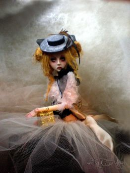 Ginger for Christmas C BJD by cdlitestudio