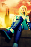 Samus at Dusk by hugyucom