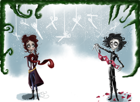 Tim has Scissors for Hands by Mrs-Lovett-da-Pirate
