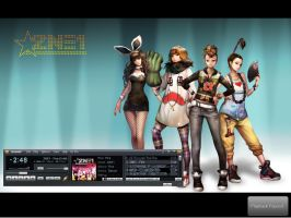 2NE1 wallpaper by Blooddust13