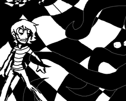 Chessboard Chase by RessQ