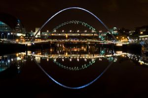 Tyne Bridges by neonwilderness