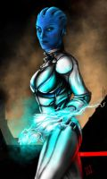 Liara T'Soni by thegameworld