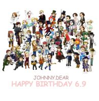 Happy Birthday Johnny Dear by amoykid