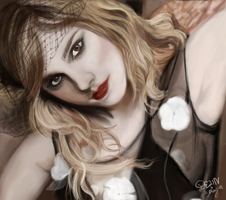 Emma Watson - Circus Look by De1in