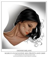 Denise Milani C.U. normal v. by MarcoGuaglione