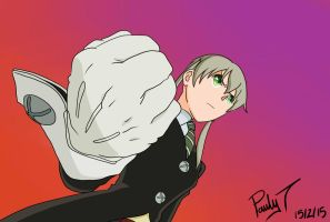Maka Ready For A Fight by paulyt7