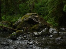 River Rock by chamberstock