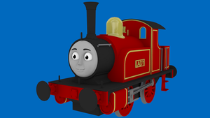 Lady the Industrial 0-4-0 Shunter by WarshipNo10