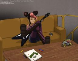 Chillin at Base by Lady-Owl