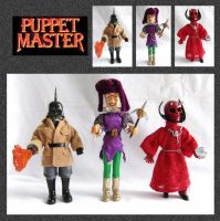 Puppet Master Models by mikedaws
