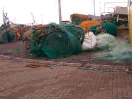 fishing nets in dingle by september28