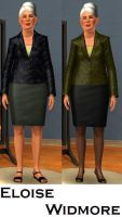 Eloise Widmore- Sims 3 by pudn