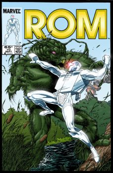 rom 70 Cover by stvnhthr Colour by me by AdamMartinColours