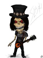 Slash (Guns'n'Roses) by AlexSnake1
