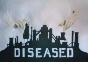 DISEASED - Cityscape by IMSadHappy