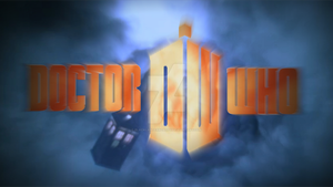 Doctor Who 50th Anniversary Logos: 11th Doctor #1 by BlackLanternDaddy