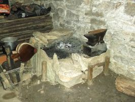 the blacksmith forge by hombre-nuevo