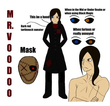 OC: Mr. Voodoo by FoxCubLover