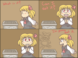 Rumia no by PuffyTrousers