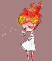 fire princess by iumba