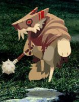 Gnoll Cleric by Wolfie-Raven