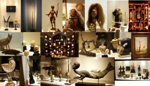 Curiosity Cabinet of Olbricht Collection - Berlin by Nimgaraf