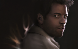 Supernatural - Castiel by Golbeza