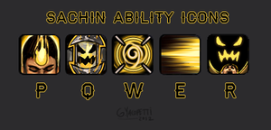 CC - Sachin Ability Icons by fivetinsoldiers