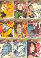 Marvel Masterpieces II set 4 by KidNotorious