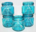 Moroccan style blue lantern by art-sisters