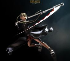 Dark Knight Maka by 3Dswed