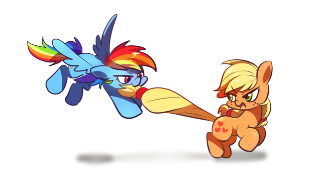 Don't pull my tail! by SION-ARA