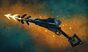 COM: Glyphic Speargun by JNetRocks