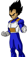 Vegeta by Darkthehedge12