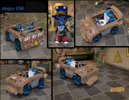 Angry USB in Modnation Racers by cooked-duck-fishface