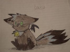 Uryu The Cat by Drawing-Rainbow