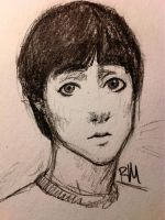 Keith Moon doodle by greengal14
