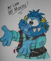 My Little Pet Monster by TMNT1984