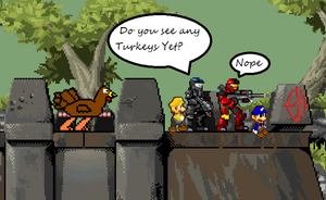 Thanksgiving hunt by Tom-125