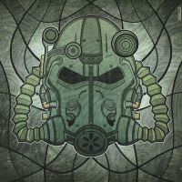 Fallout Power Armor Helmet by Didacus518